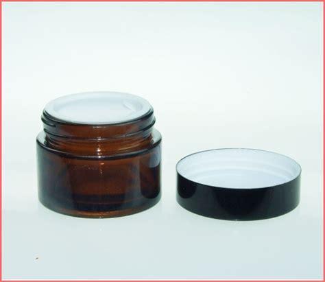glass cream jar 2 x 50g jar glass care lotion moisturizer lanolin jar ebay