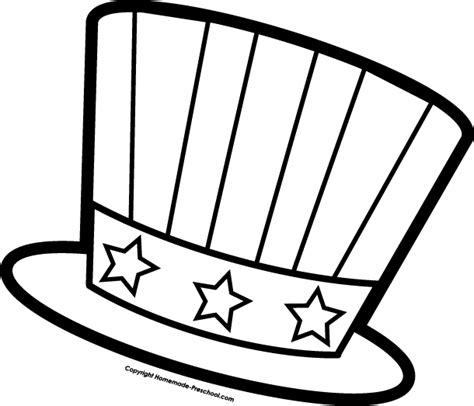 4th of july coloring pages preschool july fourth hat coloring page for preschool fun and free