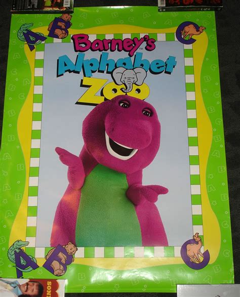 the potty zoo the funniest abc book books barney alphabet zoo children s poster rolled ebay