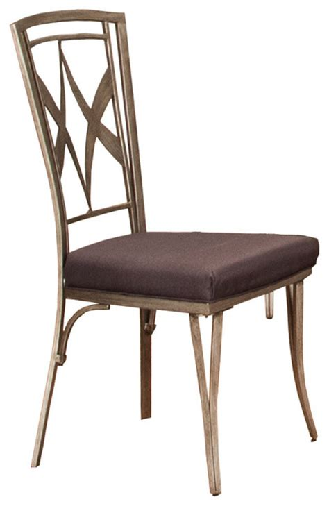 shop houzz titanic furniture inc modern metal chair