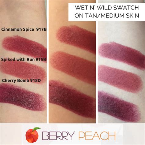 n lipstick colors n lipstick swatches on medium or skin