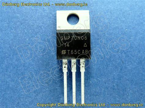 katalog transistor fet halbleiter sup70n06 14 sup 70n06 14 n fet 60v 70a 142w 0 014e