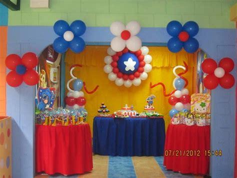 capitan america decoracion ambientacion cotilln fiestas muyameno com 12 01 2014 01 01 2015