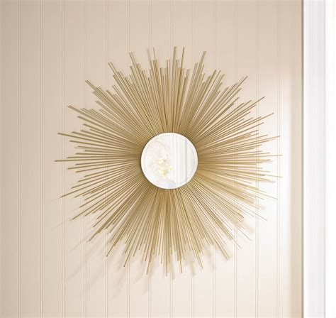 home decor mirror golden rays sunburst mirror wholesale at koehler home decor