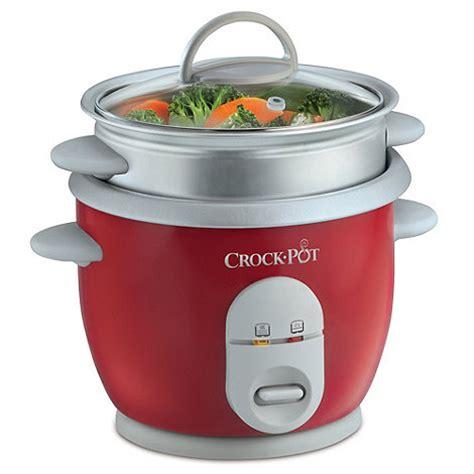 3 section crock pot crock pot crock pot red rice cooker ckcprc4725 060 at
