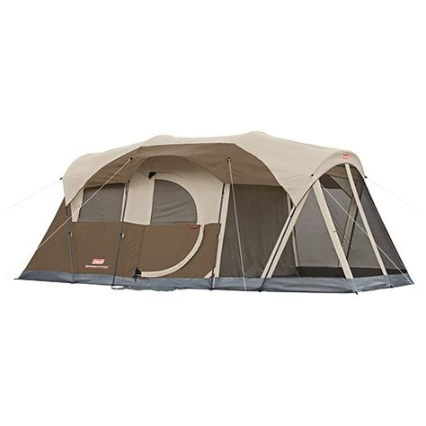 Coleman Cabin Tents Walmart by Coleman Weathermaster 6 Person 2 Room Tent Walmart