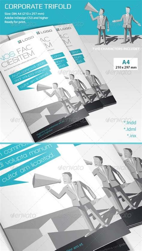 graphicriver brochure template brochure templates graphicriver corporate tri fold