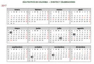 Calendario 2018 Colombia Calendario Colombia Calendario 2017