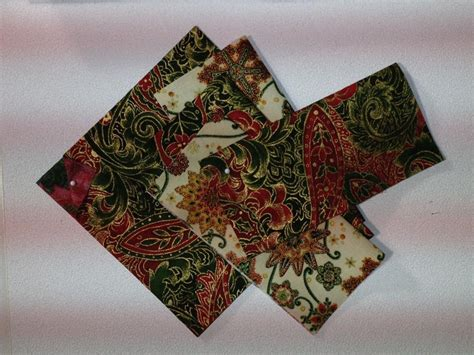 pattern for fabric wine coasters wine coaster square by marie joerger craftsy