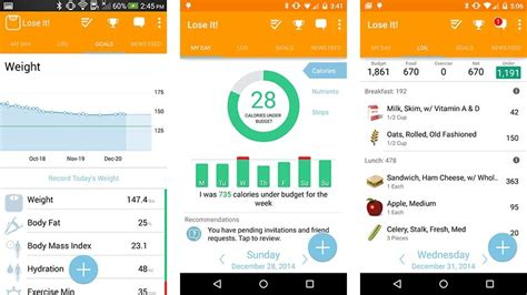 lose it app for android 10 best android diet apps and android nutrition apps