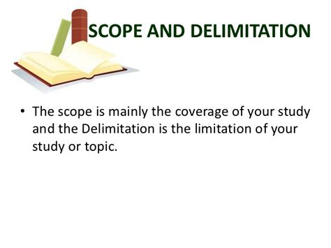 exle of thesis scope and limitation sle thesis chapter 1 scope and delimitation
