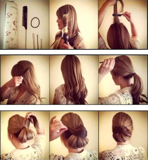 step by step guide to a beauitful hairstyle easy updos 10 cute and quick updos for every occasion