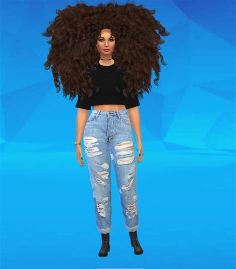 african cc hair for sism4 afro sims 4 hair gourmet sims x waves cut ym em by