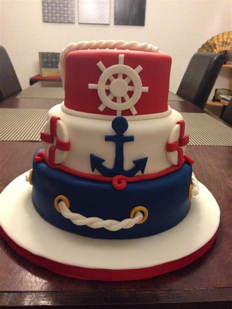 theme cake decorations nautical cake ninjasweets