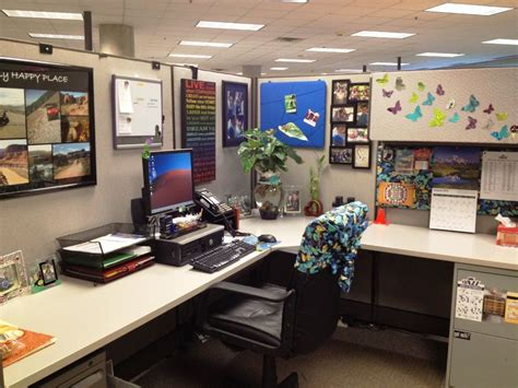 cubicle desk decor office cubicle ideas for office with l shape desk and