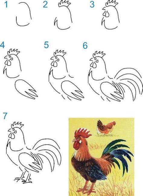 the artist s workbook easy to follow lessons for creating your own characters 25 best ideas about rooster on roosters