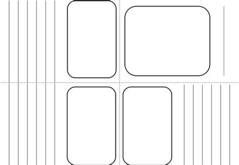 Mini Booklet Template Made From 1 Sheet Of A4 By Bora Bora Teaching Resources Tes Mini Book Template
