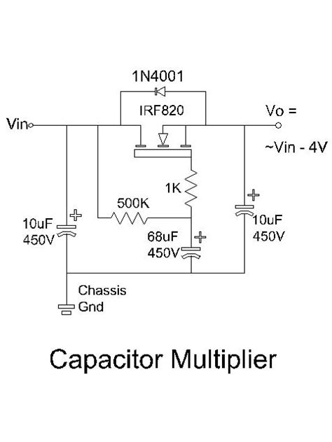 capacitance multiplier ripple filter capacitance multiplier ripple 28 images capacitance multiplier power supply filter the