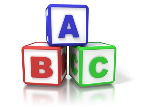 Abc Blocks back to school how are your abc s management