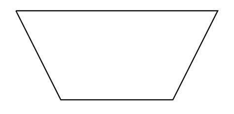 trapezoid shape upside  png  upside
