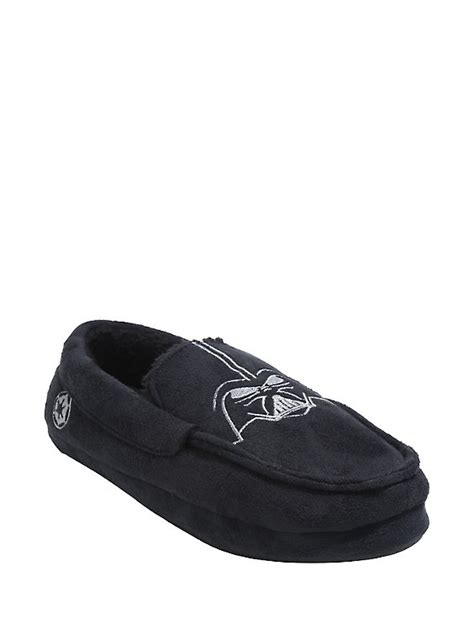 darth vader slippers wars darth vader moccasin slippers topic