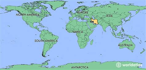 location of iran on world map where is iran where is iran located in the world