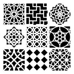 morrocan design moroccan stencil printable moroccan printable template