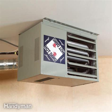 Heating A Garage by Best Option For Heating A Detached Garage Room Diy