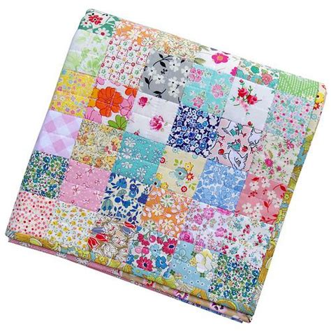 Patchwork Binding - scrappy liberty patchwork quilt pepper quilts