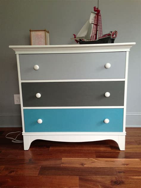 boys bedroom dresser painted drawers nursery ideas pinterest painted