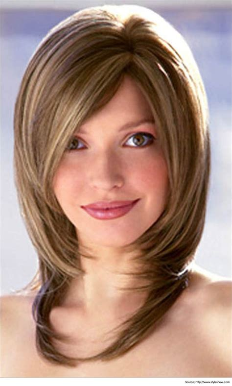 medium length hairstyles for a woman with a big nose trendy bob cuts medium length hairstyles for women