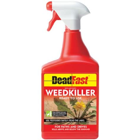 Killer For Patios by Deadfast Path Patio Weedkiller 1 Litre