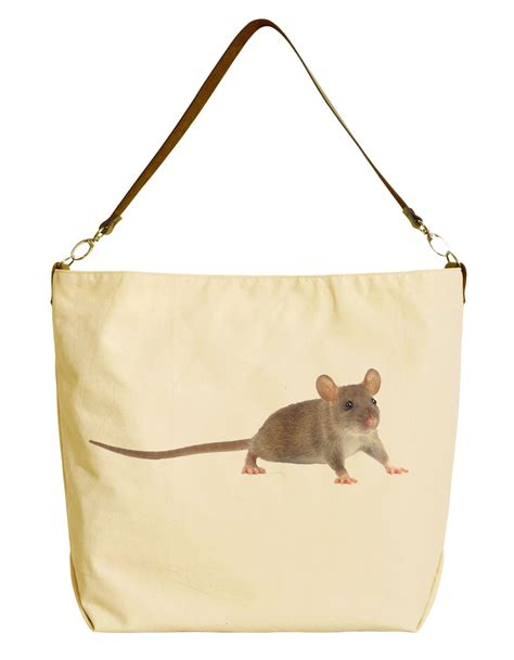 Tote Bag 29 realistic animal printed canvas tote bag with leather