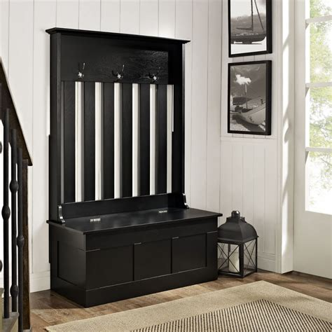entryway bench with hooks black entryway coat rack with bench stabbedinback foyer