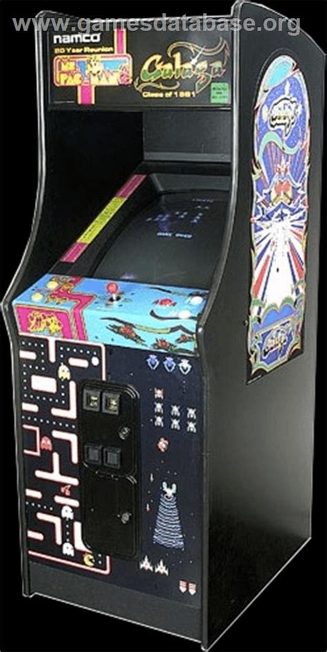 Galaga Arcade Cabinet by Ms Pac Galaga 20th Anniversary Class Of 1981