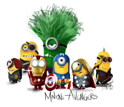Imagenes De Minions Avengers | minions avengers