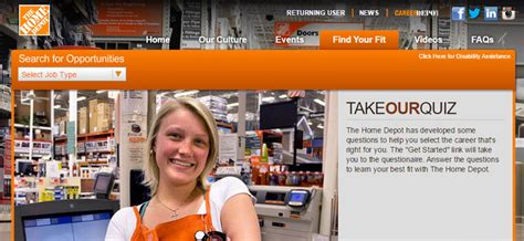 The Home Depot Internship Program Mba by Home Depot 2018 Careers Application Requirements