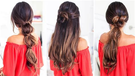 lazy hairstyles luxy hair youtube