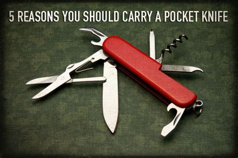 how to carry a pocket knife 5 reasons you should carry a pocket knife preparing for shtf