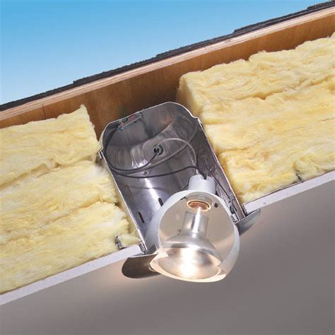 Installing Pot Lights In Insulated Ceiling How To Use Insulated Can Lights In Ceilings Can Lights