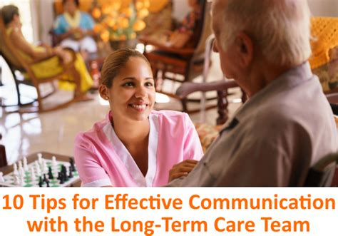 10 Tips For Living Longer by 10 Tips For Effective Communication With The Term
