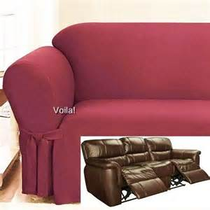 Recliner Sofa Slipcover 17 Best Images About Slipcover 4 Recliner On Taupe Black Suede And Seat