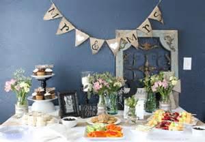 shabby chic wedding shower decorations shabby chic wedding shower diy decor real food enthusiast