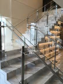 glass banisters for stairs the 25 best glass railing ideas on glass
