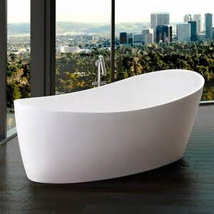 Best Way To Clean Acrylic Bathtub Cleaning Tricks Freestanding Tubs The Homy Design