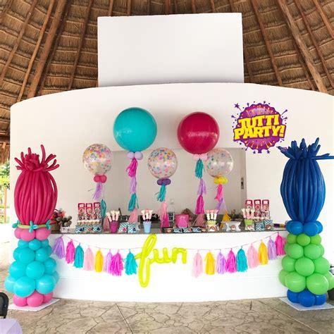 decoracion trolls trolls balloons party decorations giant balloons globos