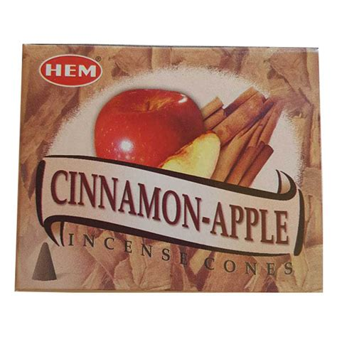 Hem Aple hem cinnamon apple incense cones 10 pack 187 plentiful earth