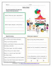english comprehension worksheets for year 2 free english