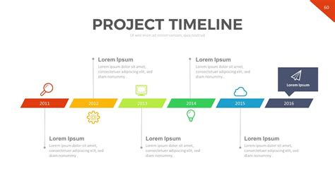 project timeline powerpoint template by rrgraph graphicriver