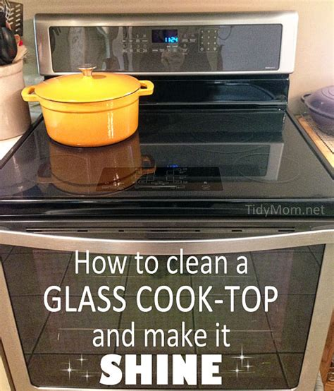 How To Clean Glass Cooktops clean a glad cook top cleaning tips